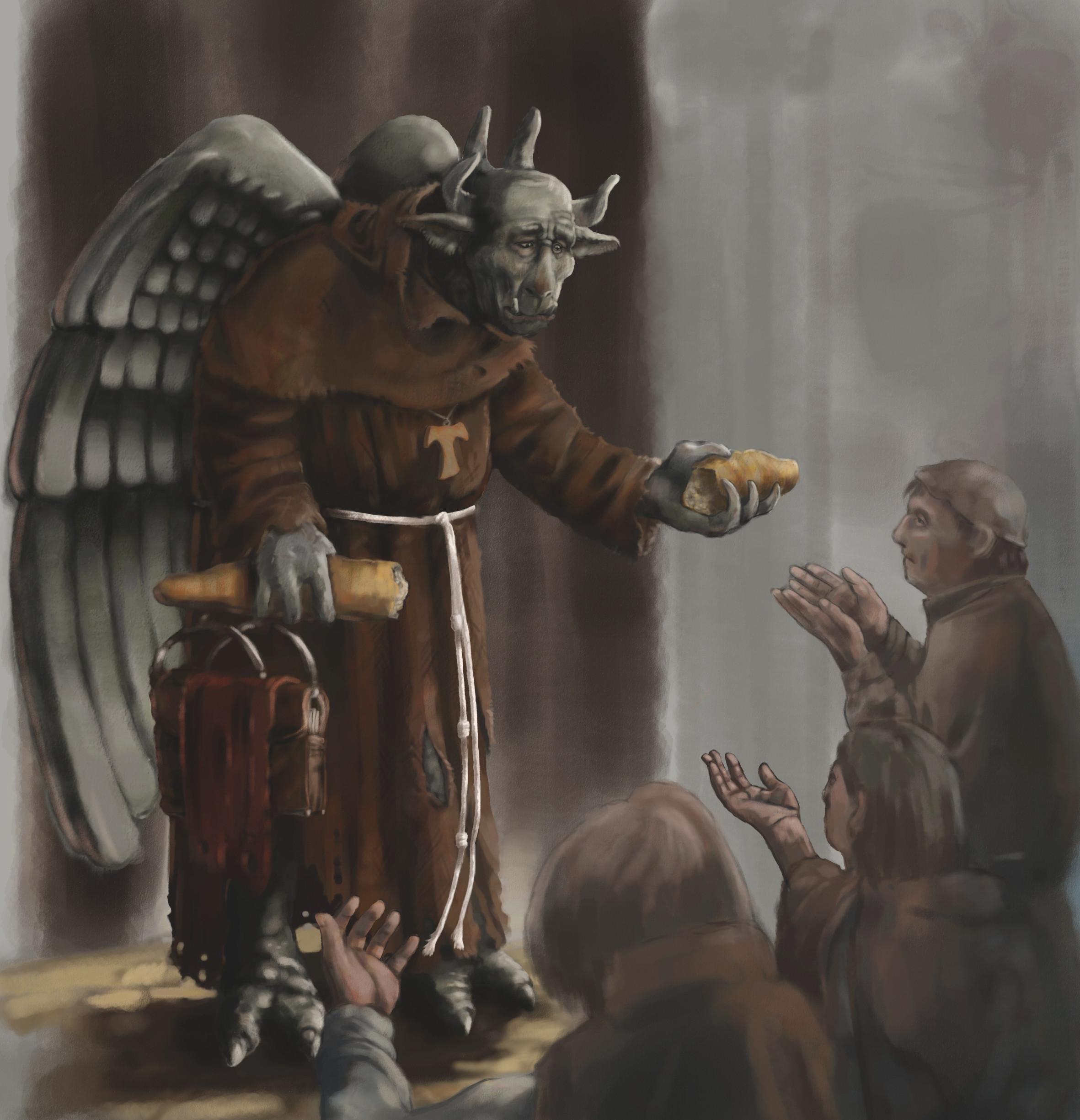Franciscan Gargoyle