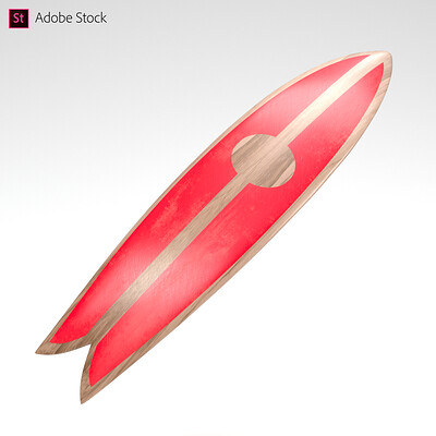 Adobe Stock | Surfboard