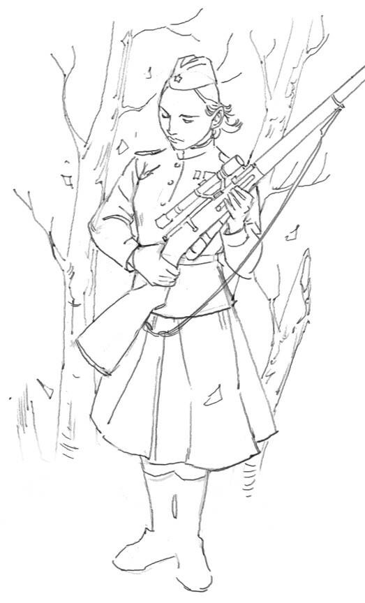 Russian Sniper Girl
