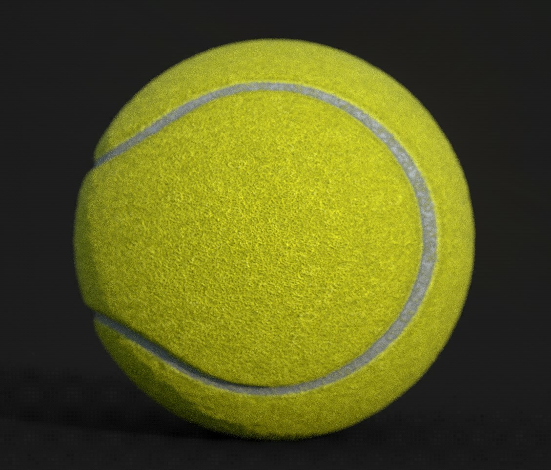 Version 01_05 Tennis Ball. The shapes aren't PERFECT, but they work in motion or at a distance...
