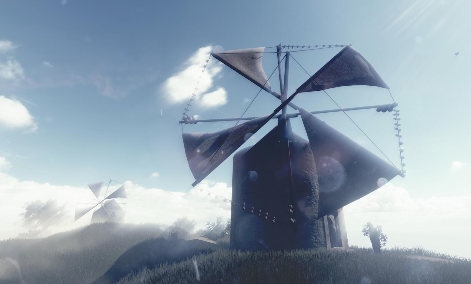 Penedo's Windmill virtual reconstruction