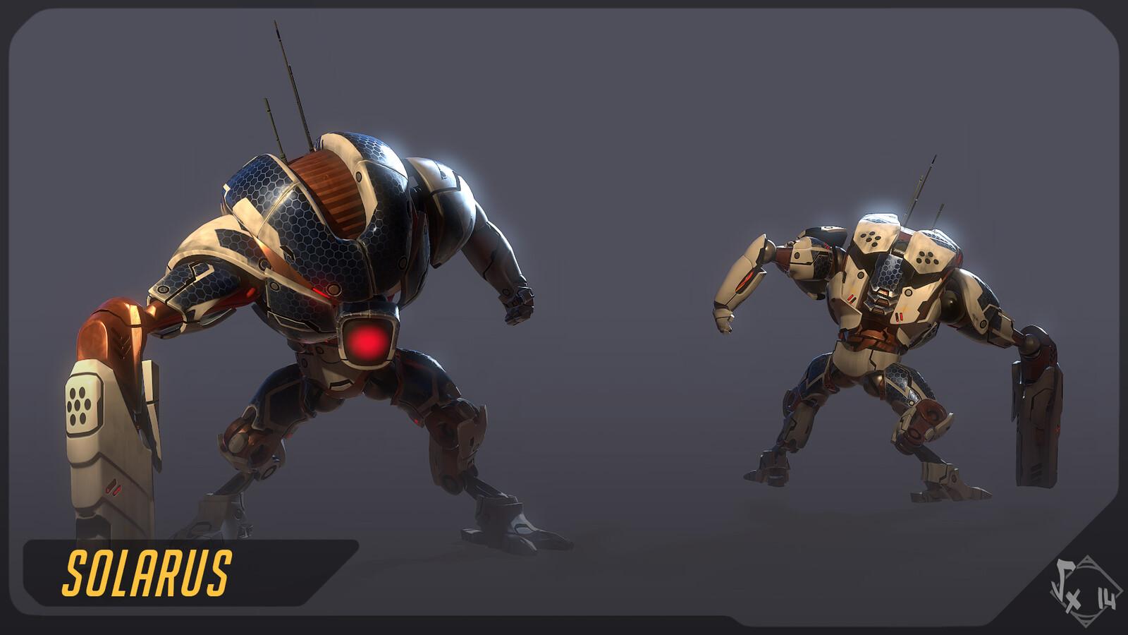 Shocker 204 Skin Solarus