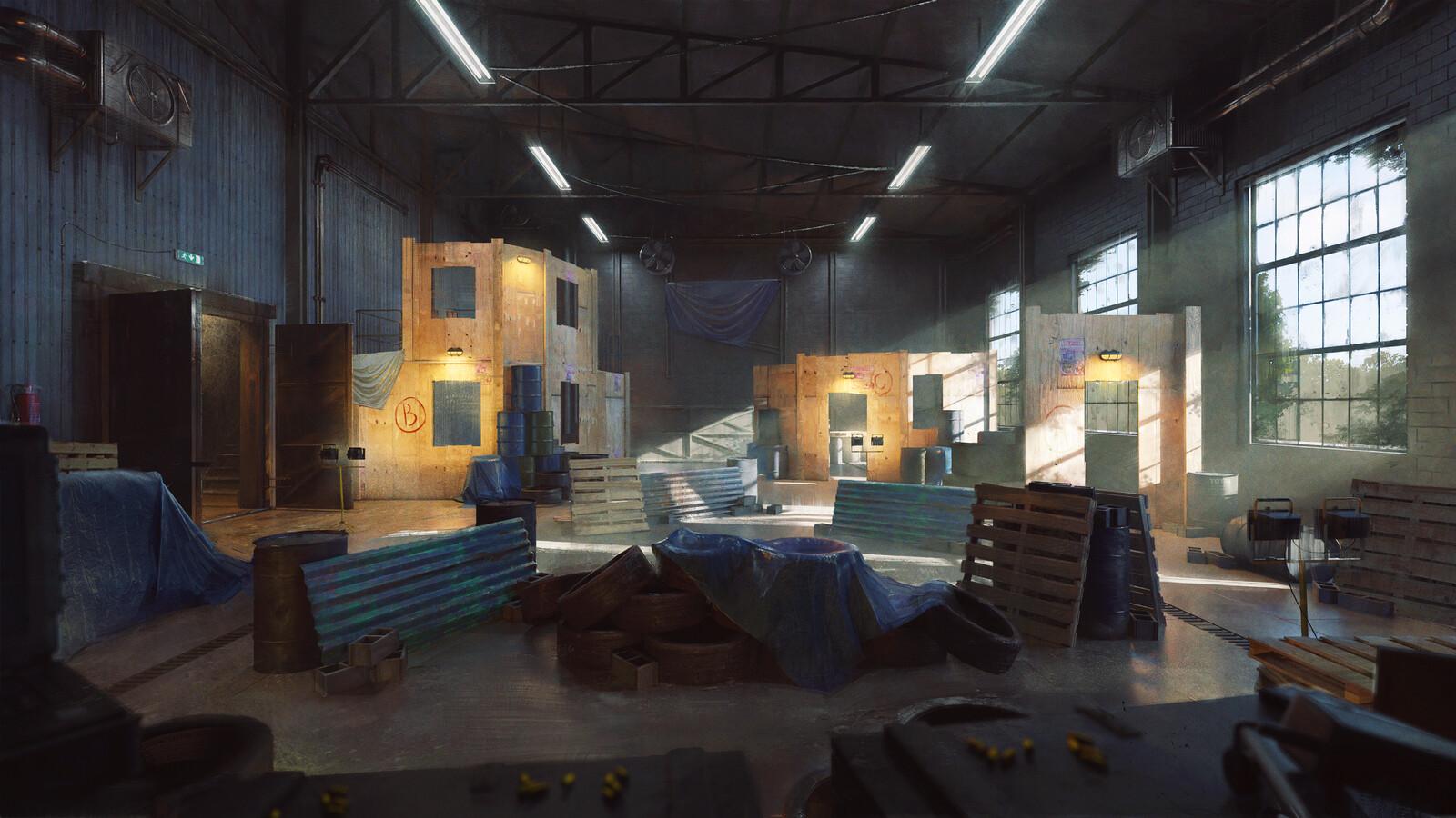 Target practice warehouse