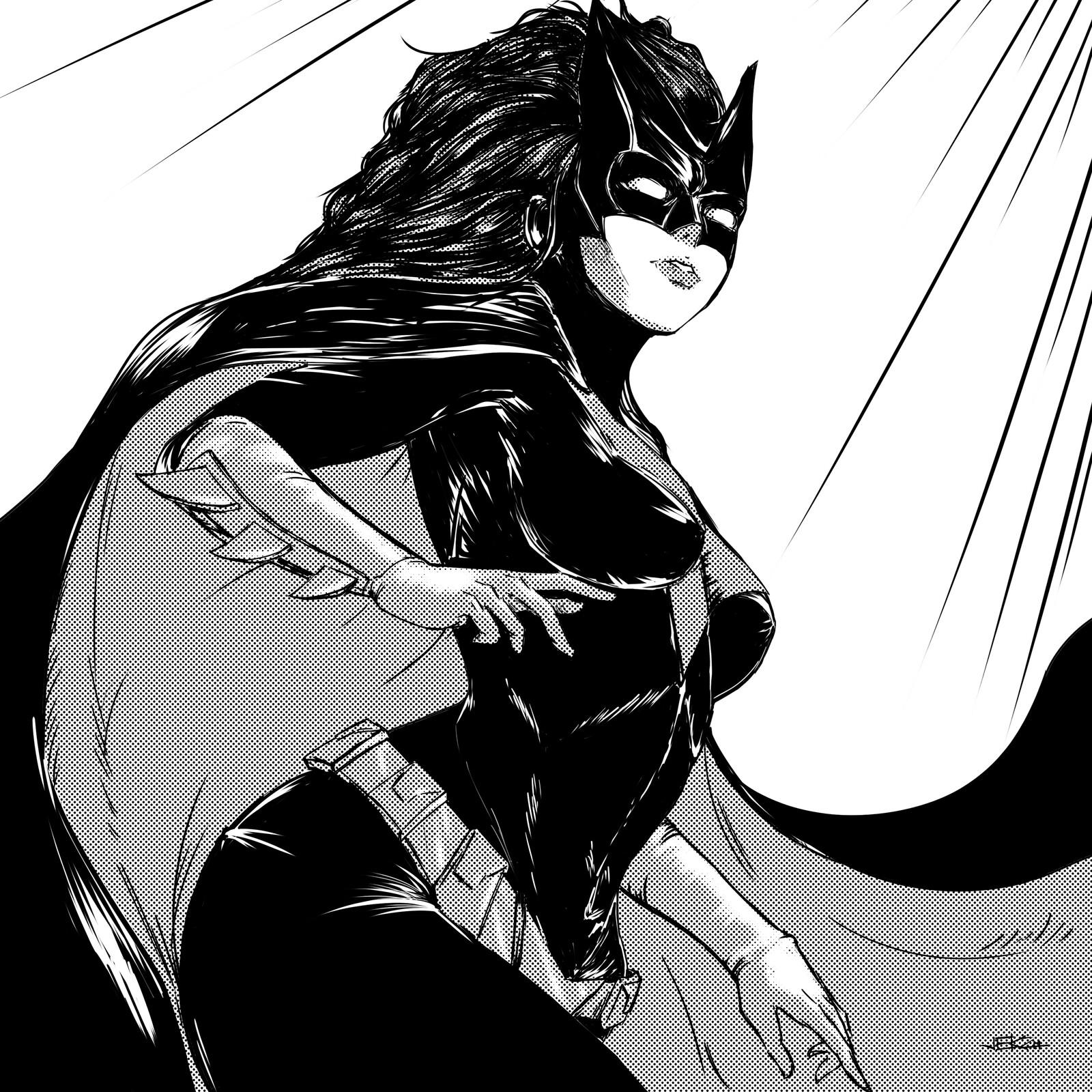 Inktober 2019 (Day 01/31) - Batwoman of DC Comics