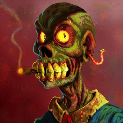 Nathan malone zombportrait