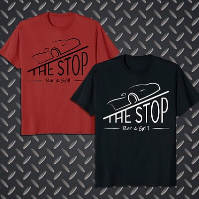 Sydney dennis the stop tshirt mock up