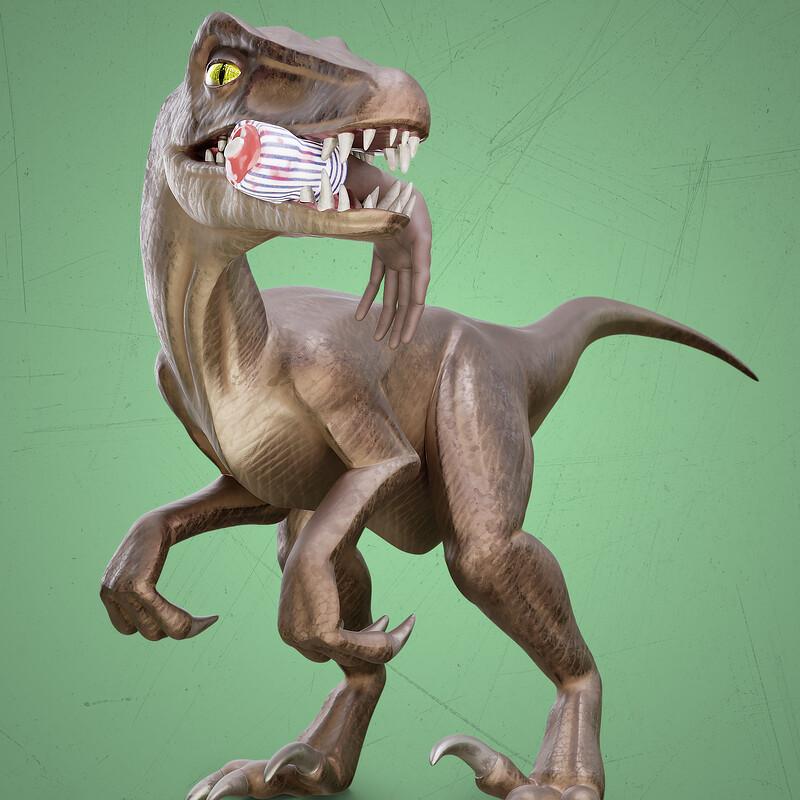 Jurassic Park's raptor