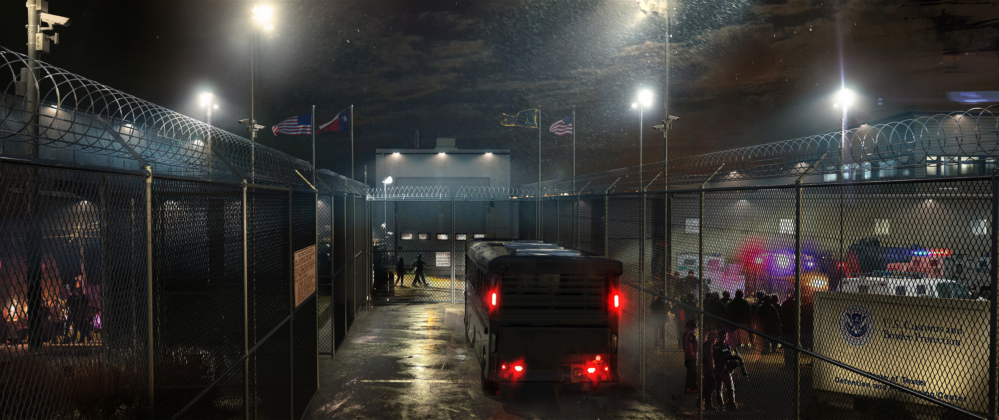 Border Patrol Detention Center