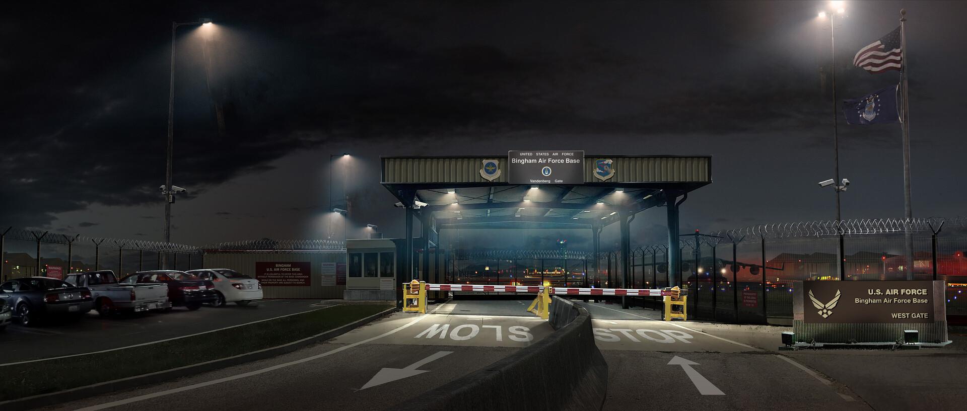 Kieran belshaw bingham airbase v002