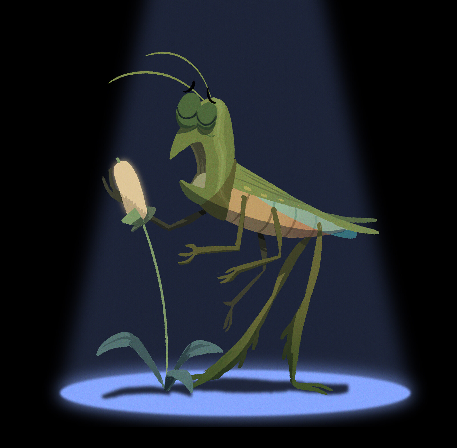 Insect Jazz Singer