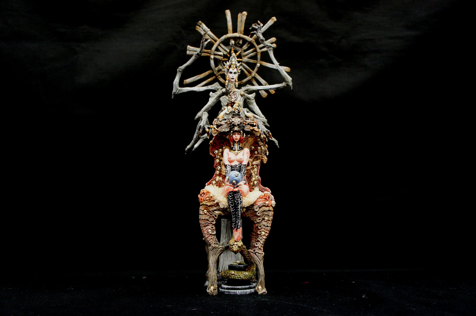 Dakini Advent Art Statue