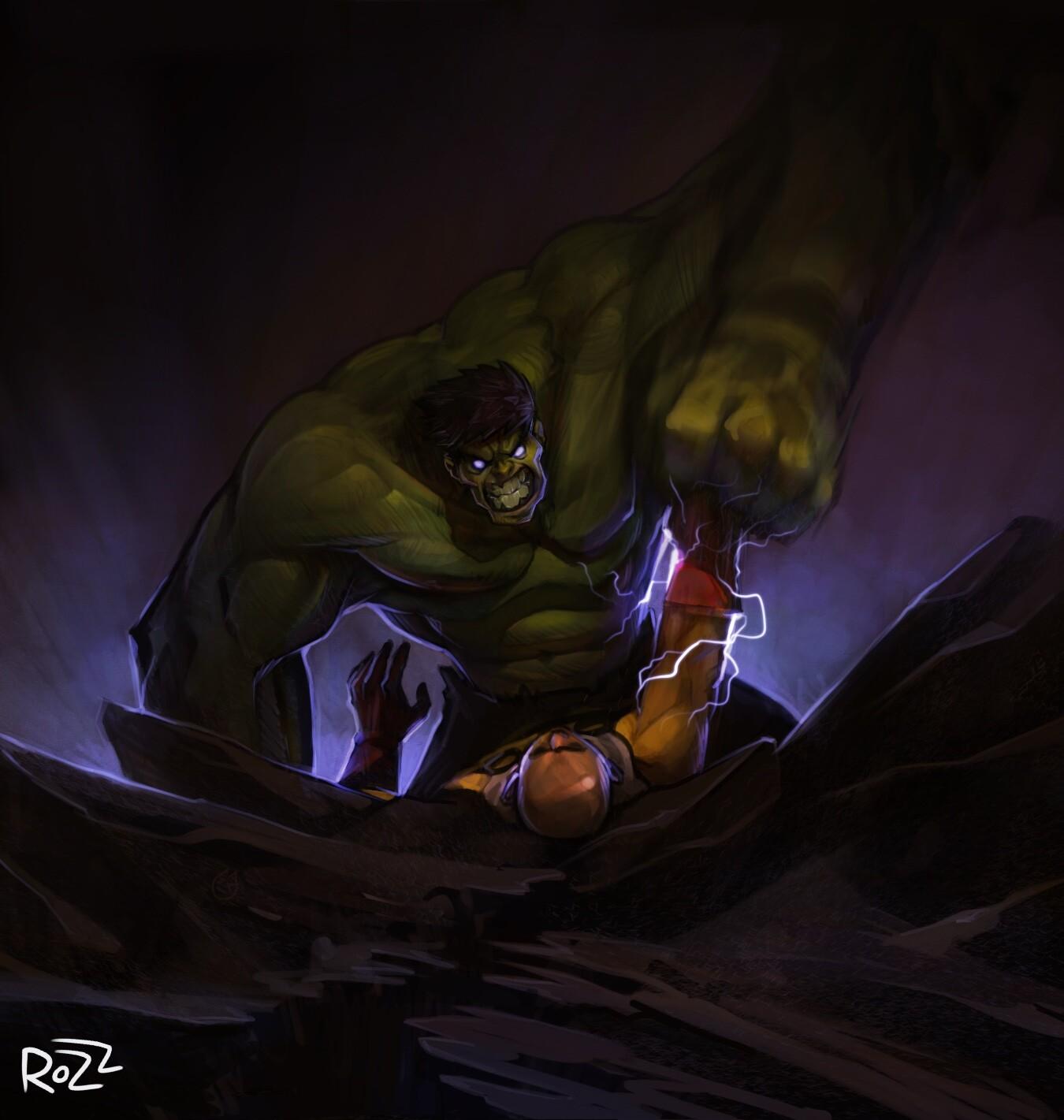 Hulk vs Saitama