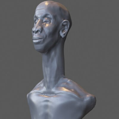 Daniel owhor abstract bust 2