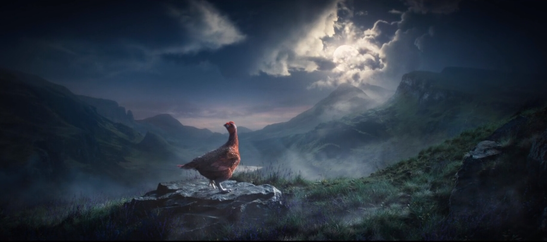 On this project, I was responsible for uprezing Axis' model and textures of the Grouse.
