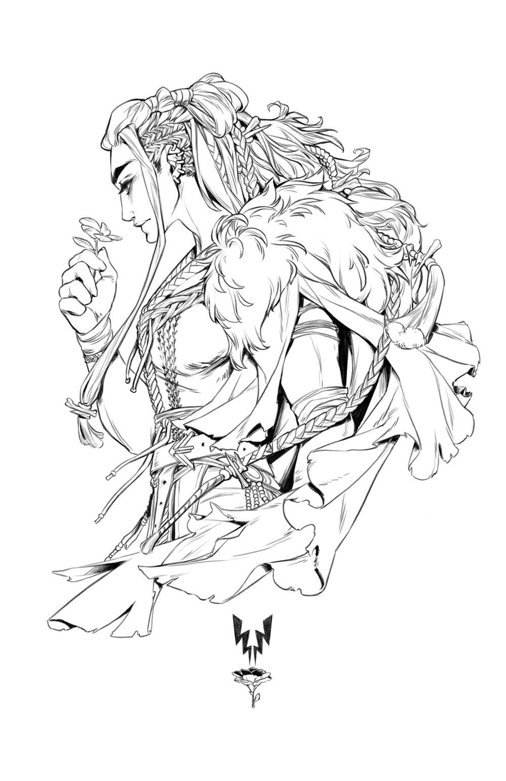 Hunter bonyun critrole charms yasha