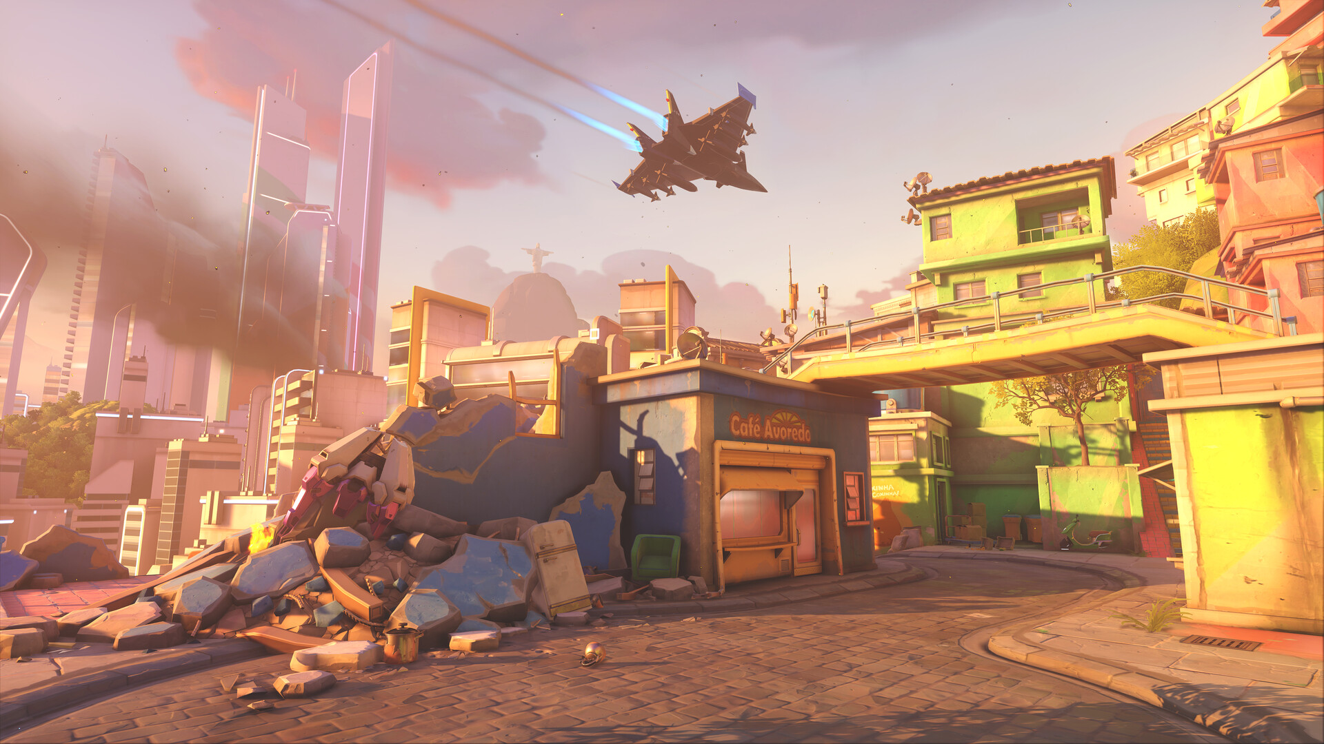 Helder pinto ow2 blizzcon 2019 screenshot maps rio mission club