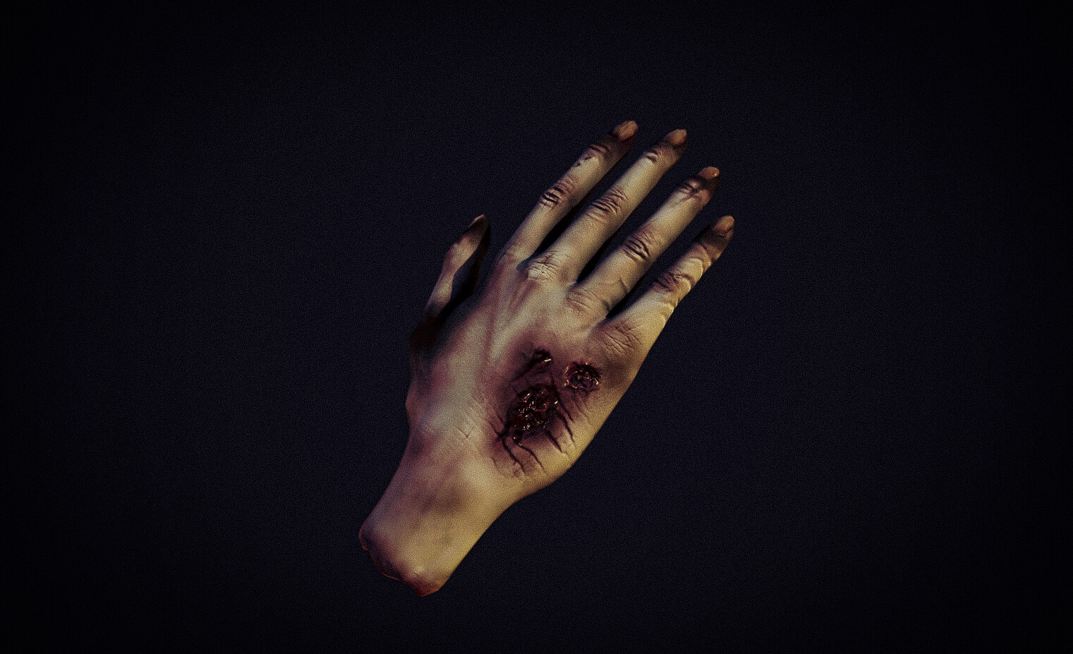 spooky corpsy hand