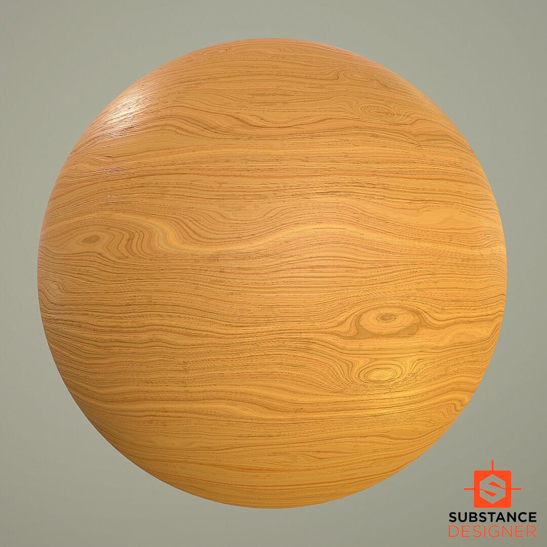 Pinewood  Material