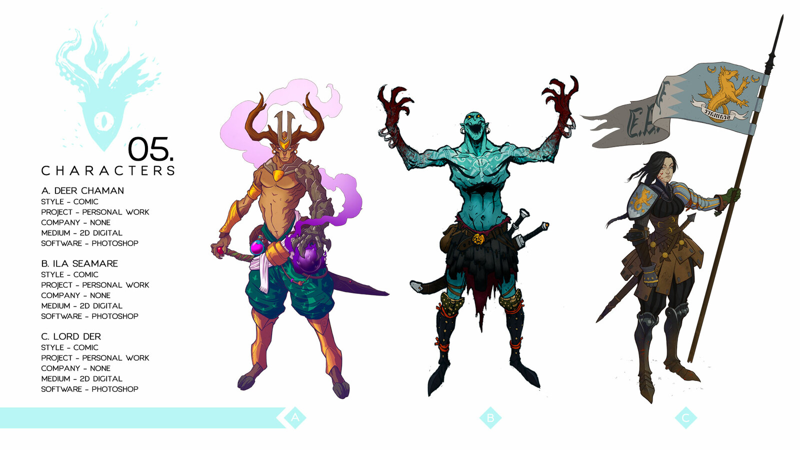 Characters - Personal work
