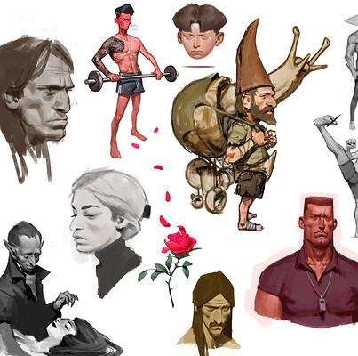 Jens claessens sketchbookpage2