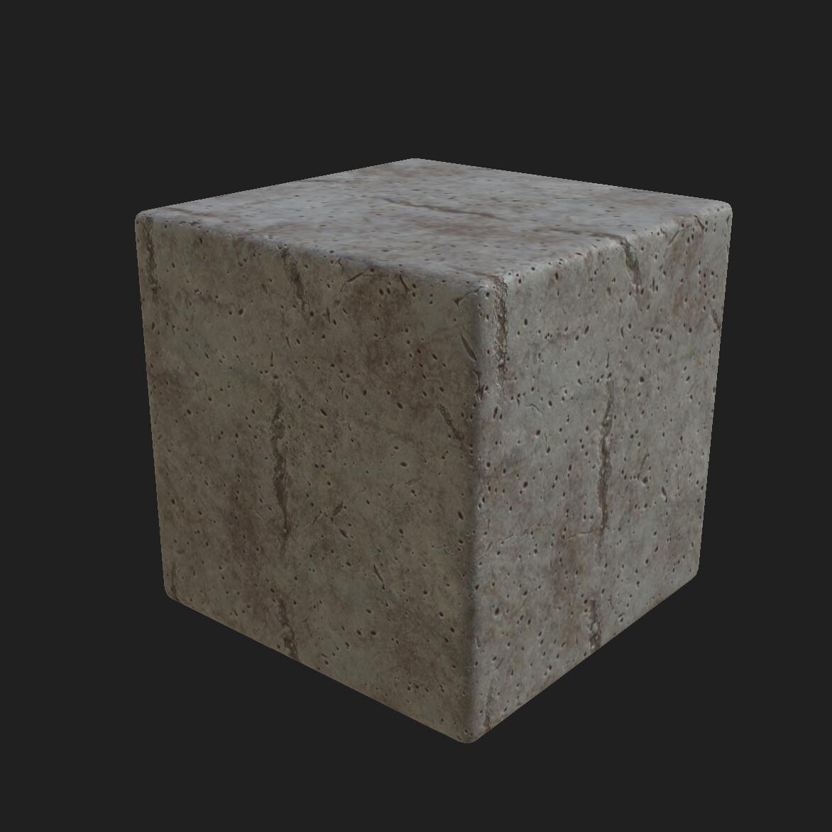 Concrete Material Substance Designer