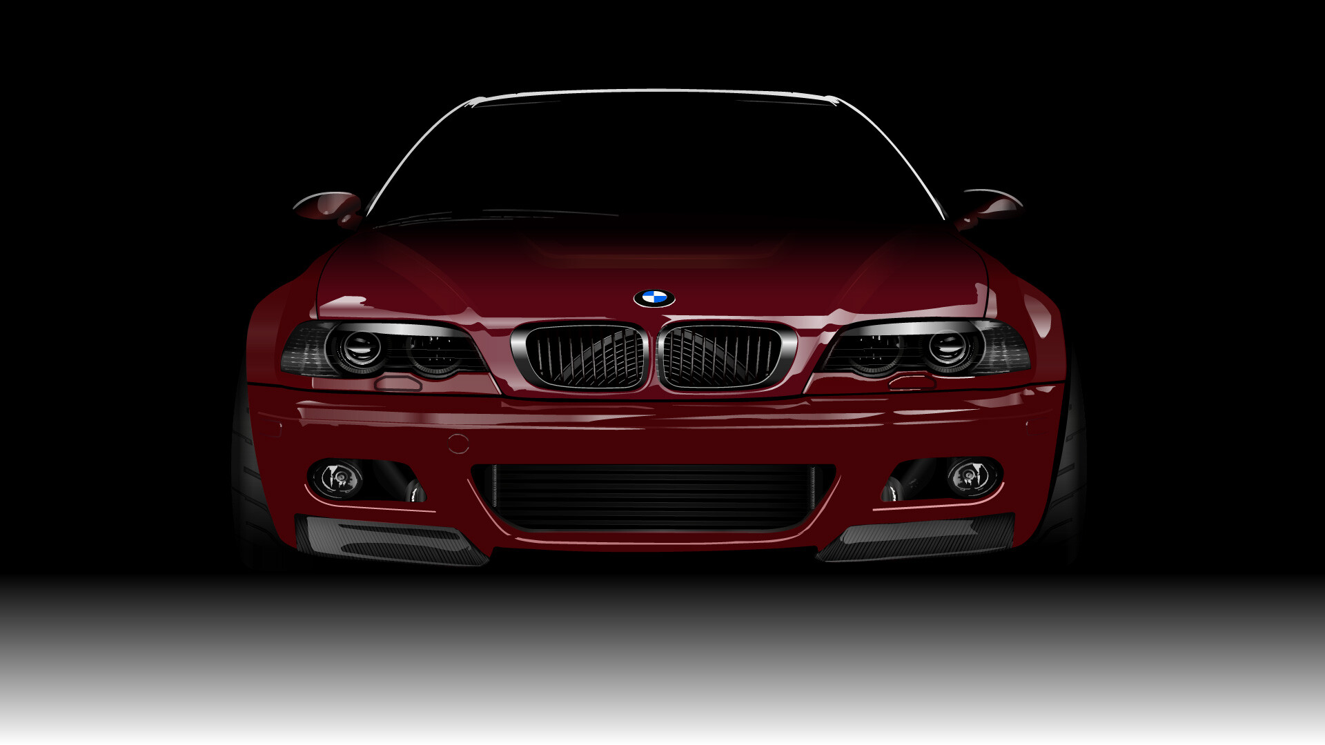 Artstation Bmw M3 E46 Illustrator Draw Oguz Kaan Tartar