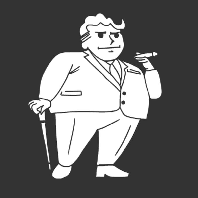 Fallout 4 Sim Settlements Conqueror Pip Boy Icon - KingPin