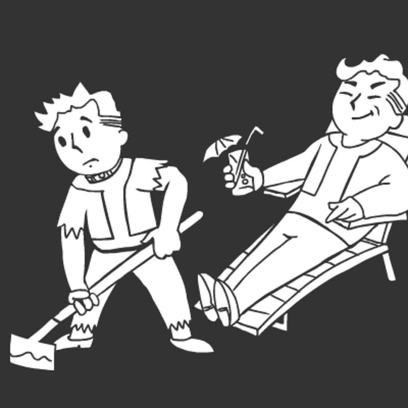 Fallout 4 Sim Settlements Conqueror Pip Boy Icon - Slaver