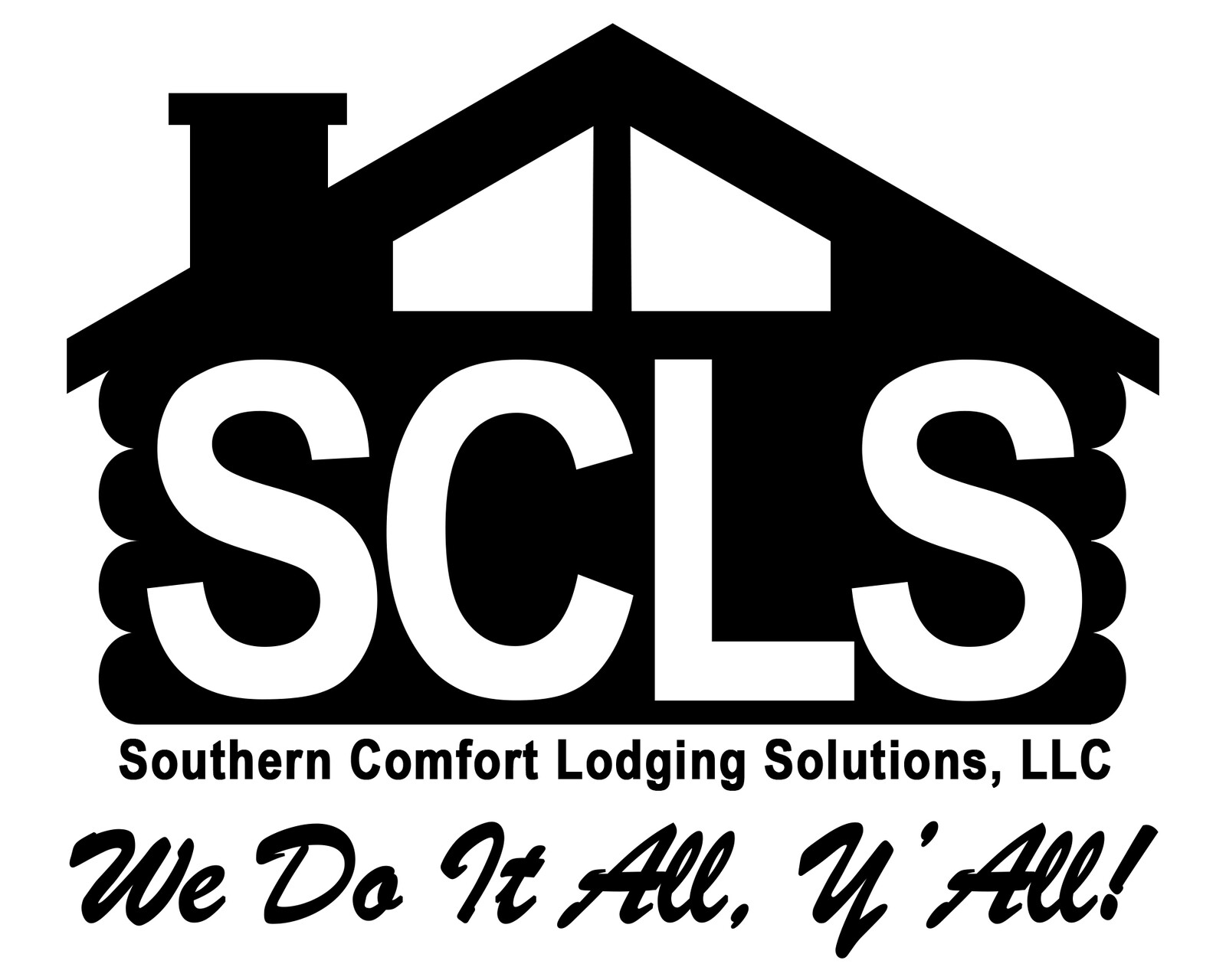 Final iteration of the SCLS logo (Black version)