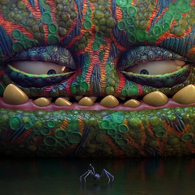 Pablo munoz gomez monster blob render