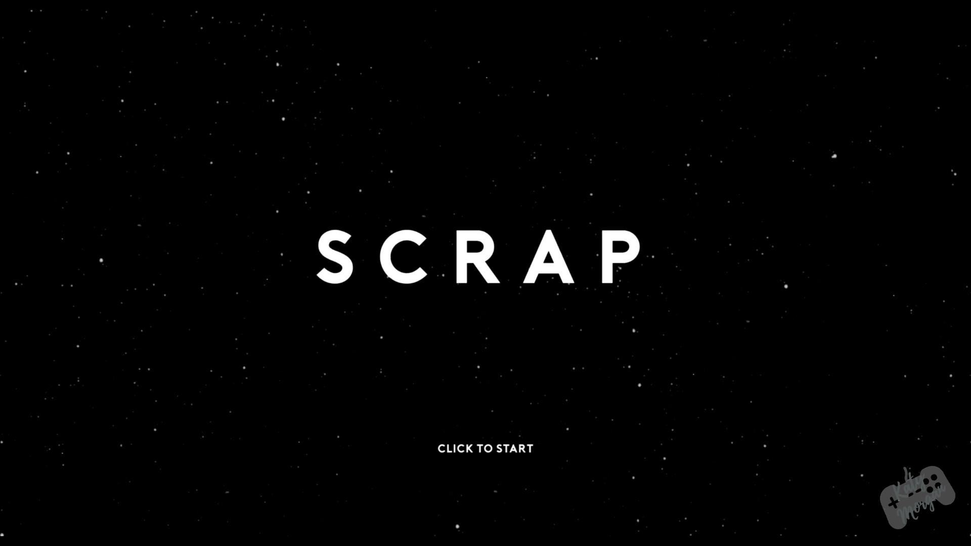 UI Menu for Scrap - made by myself.