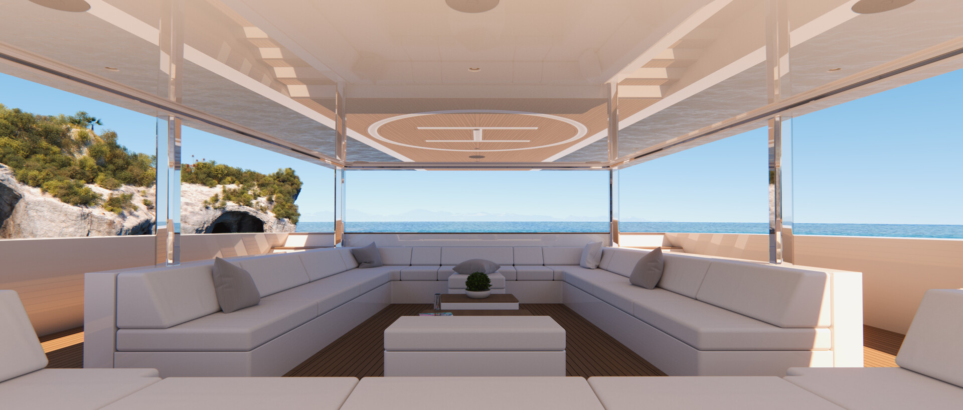 G250: Forward lounge (open)