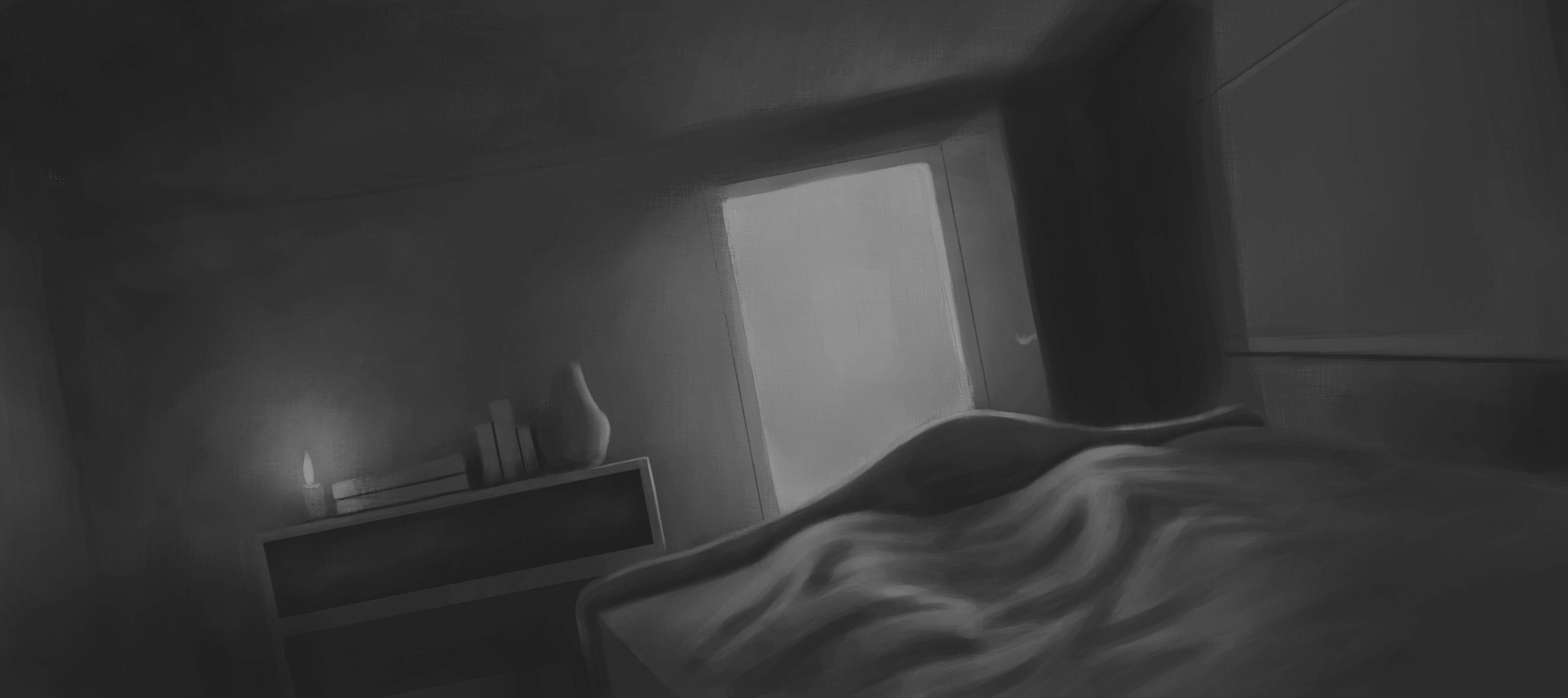 First lighting sketch