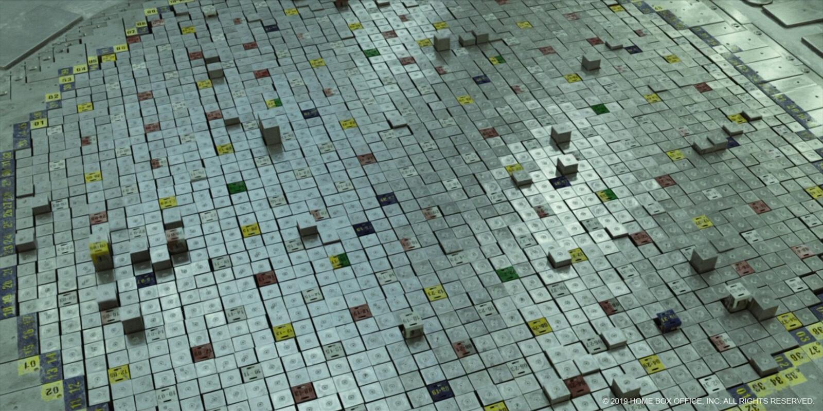Reactor lid - secondary texturing, lookdev, shot lighting