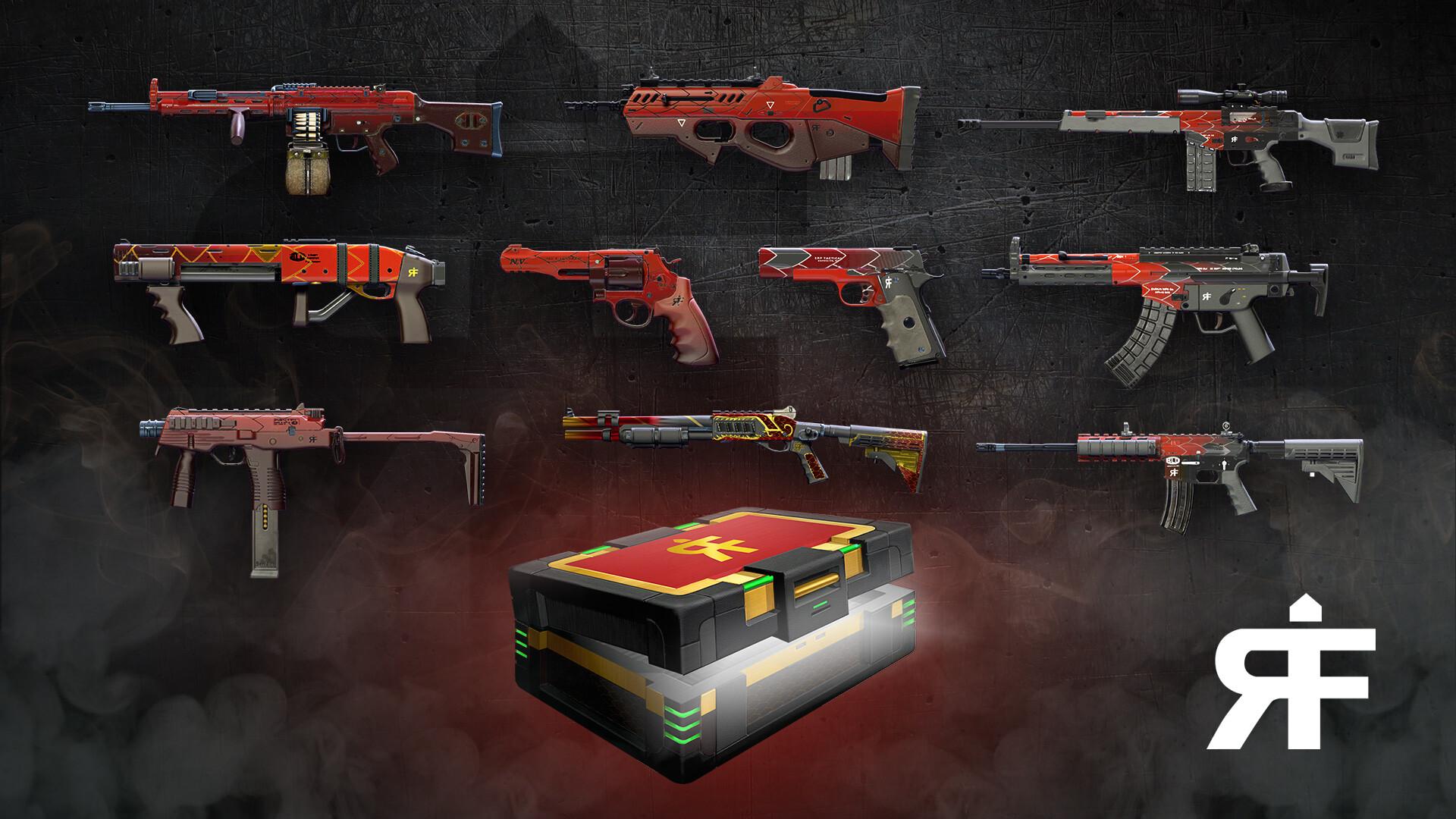 Jordan moss weapon skins rf