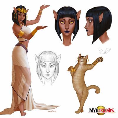 Rafater rafael teruel x mythcats rafater 01 concept design