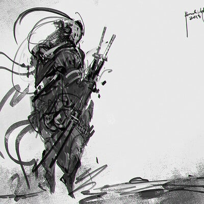 Benedick bana quick sketch 06 naut final lores