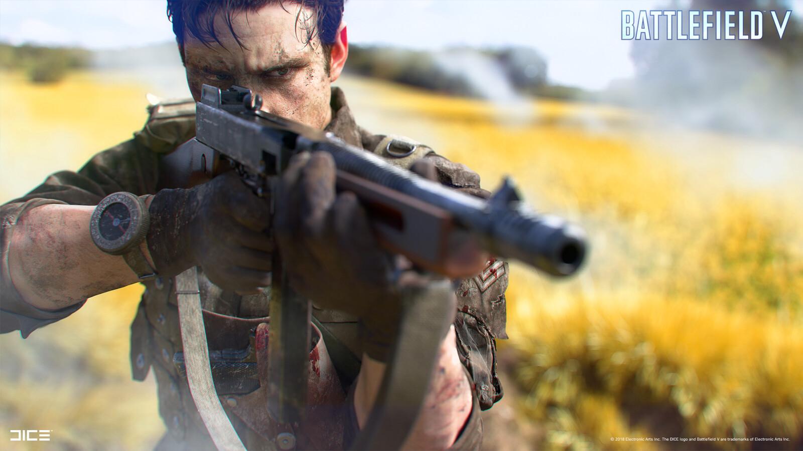 """Battlefield V"" - Allied Assault in Arras, France - Visual target concept"
