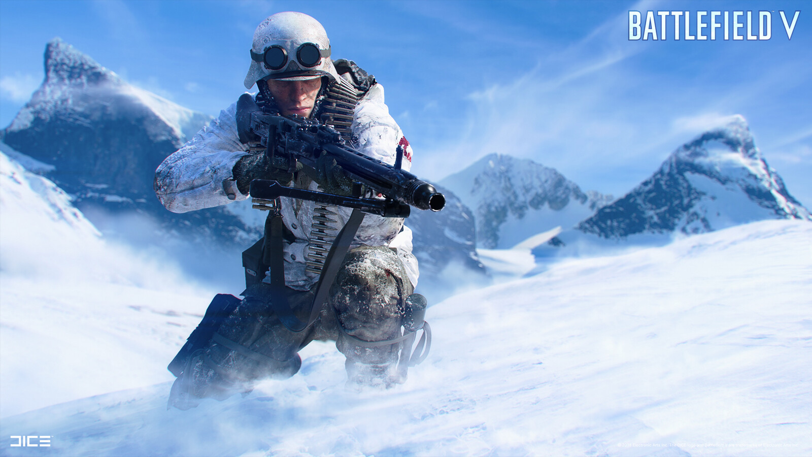 """""""Battlefield V"""" - Axis Support in Norway - Visual target concept"""