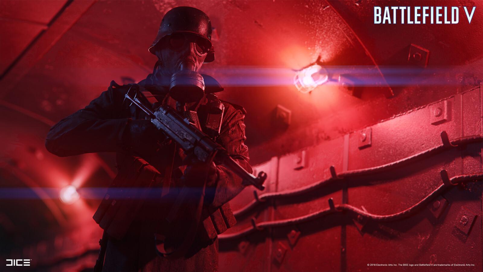 """Battlefield V"" - Axis Bunker Raid - Visual target concept"