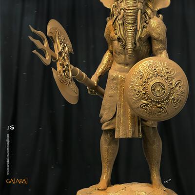 Surajit sen gajaraj concept digital sculpture surajitsen nov2019