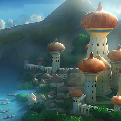 Godwin akpan arab palace