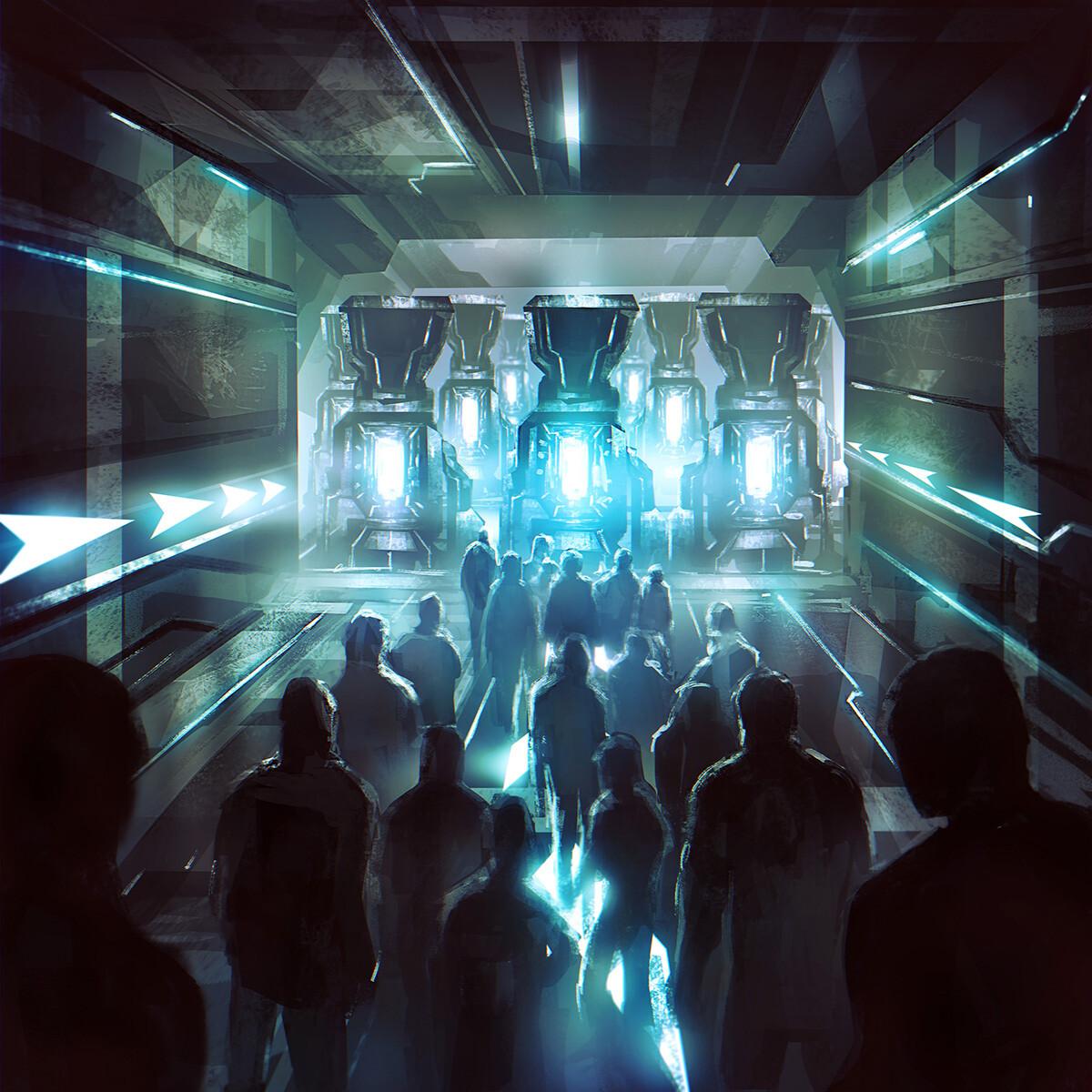 Dark Eternal Future- Album booklet Art