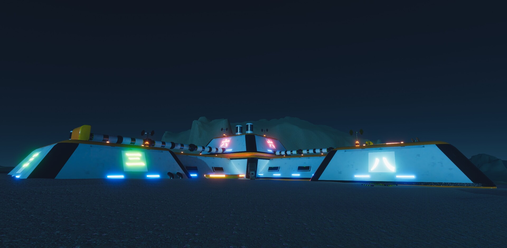 Enrico ottonello screenshot02 sci fi building exterior pack gameartifact