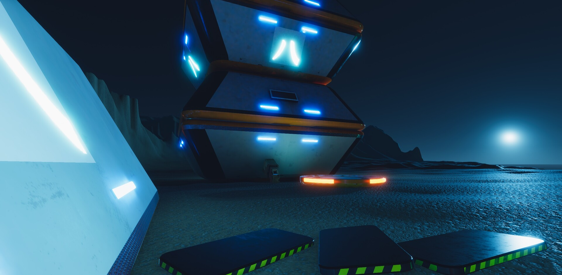 Enrico ottonello screenshot03 sci fi building exterior pack gameartifact