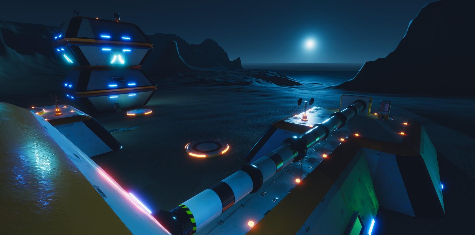Enrico ottonello screenshot09 sci fi building exterior pack gameartifact