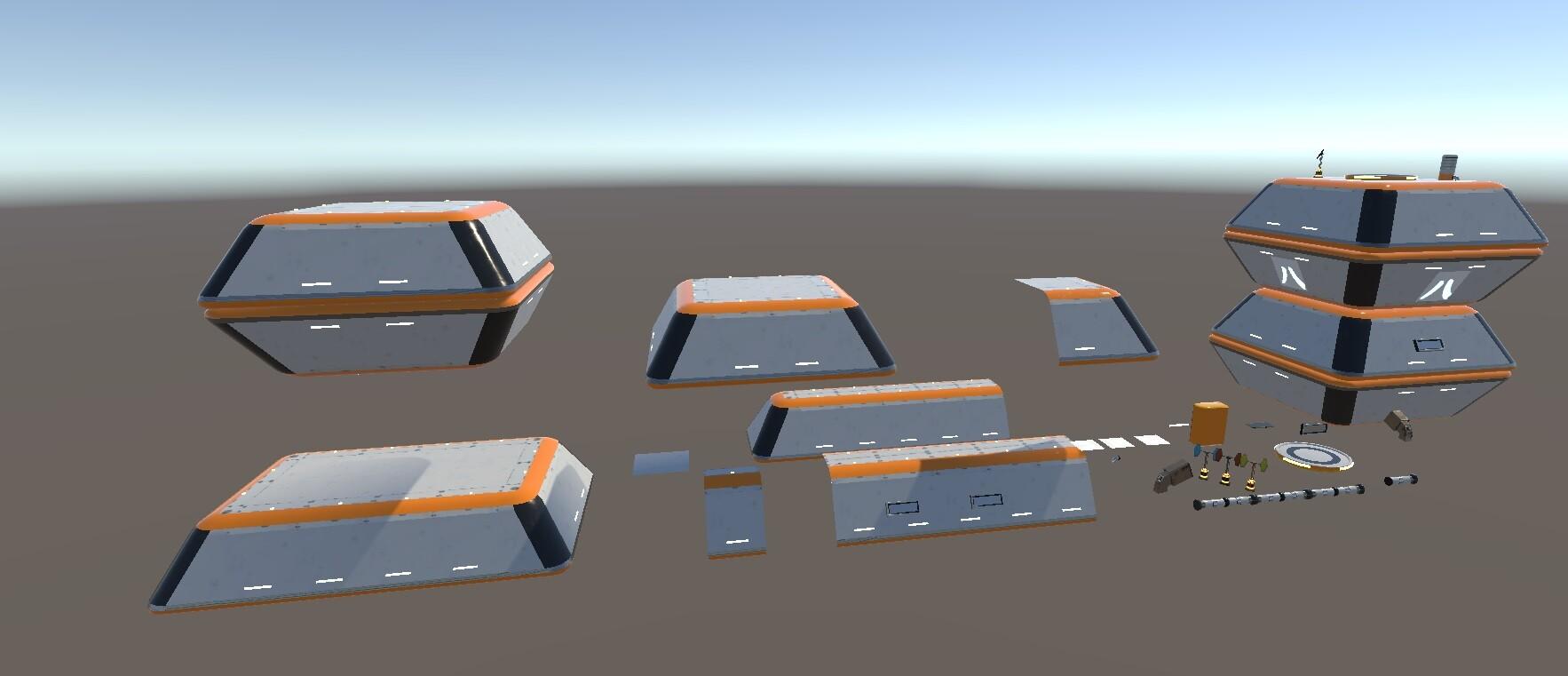 Enrico ottonello screenshot10 sci fi building exterior pack gameartifact