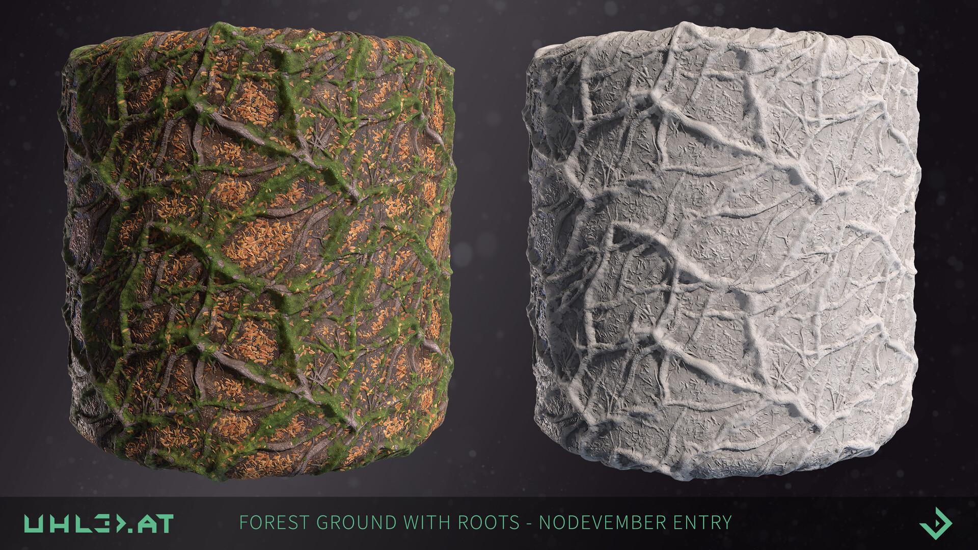 Dominik uhl organic woodgrounds with roots 08