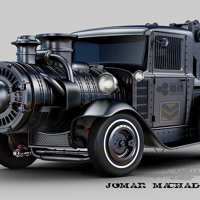 Jomar machado steam hot rod