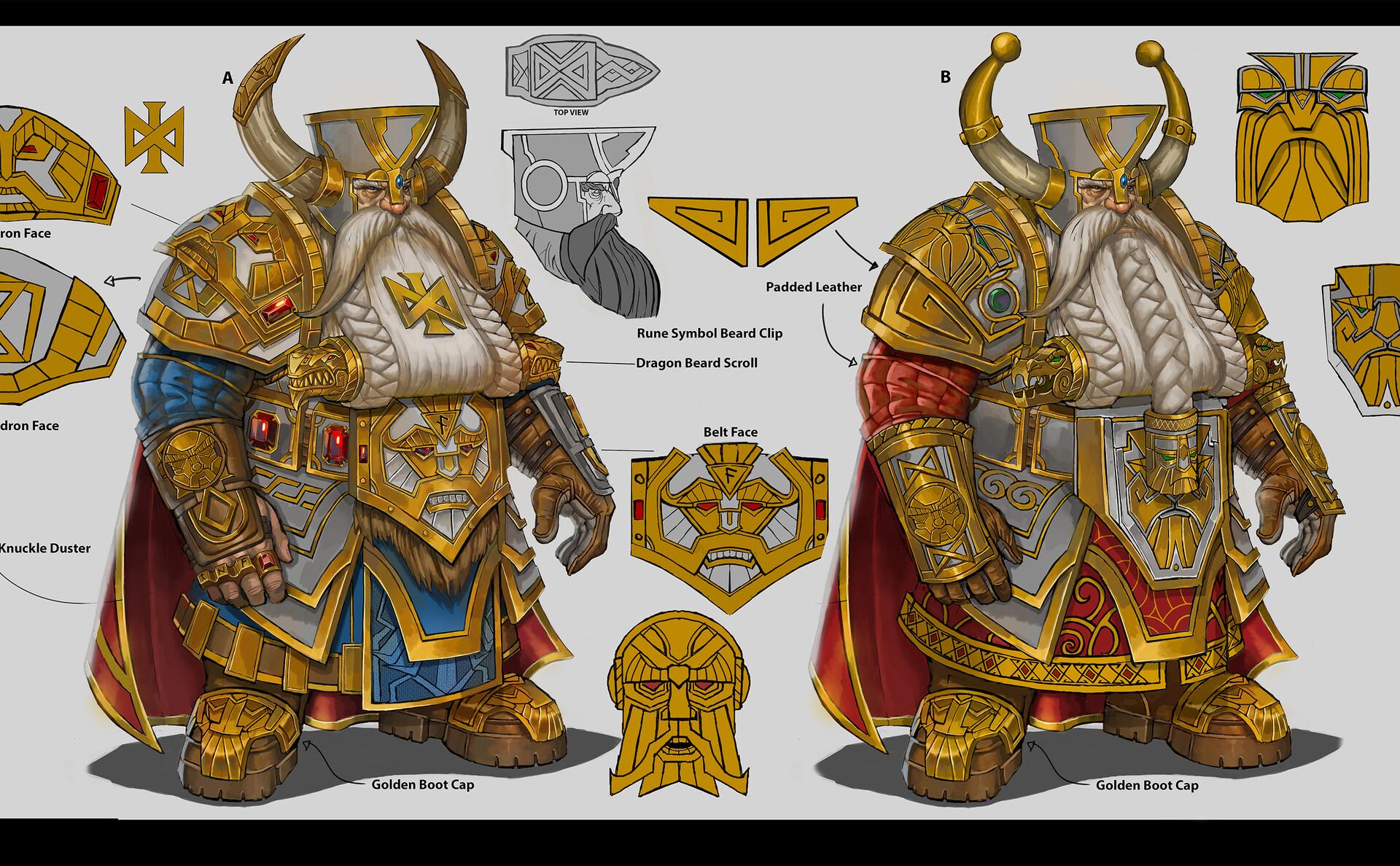 Artstation Runelord Concept Art Total War Warhammer